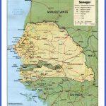 senegal rel89 150x150 Senegal Map