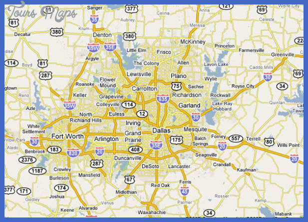 service area map Irving Metro Map