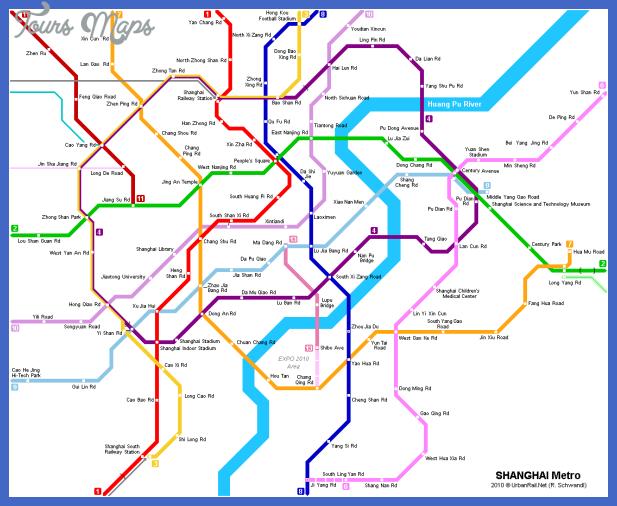 shanghai map Shenyang Metro Map
