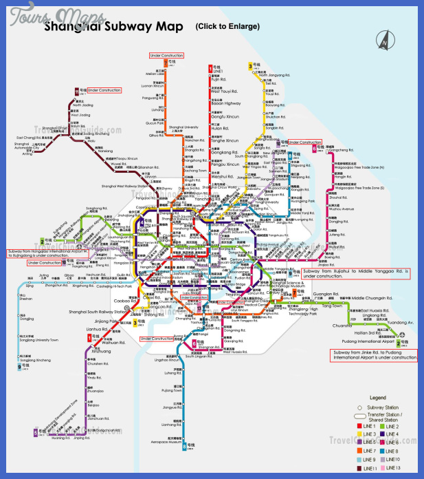 shanghai subway map Shanghai Metro Map