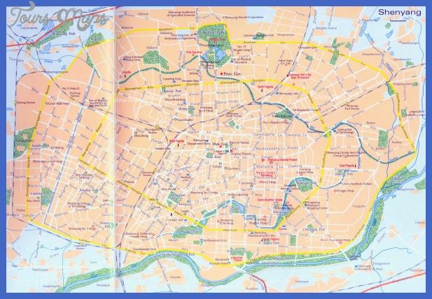 shenyang city Shenyang Subway Map