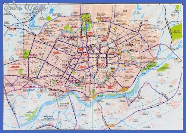 shenyang map  0 Shenyang Map