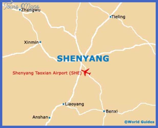 shenyang city map Shenyang Map