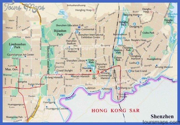 shenzhen city 1 Shenzhen Map