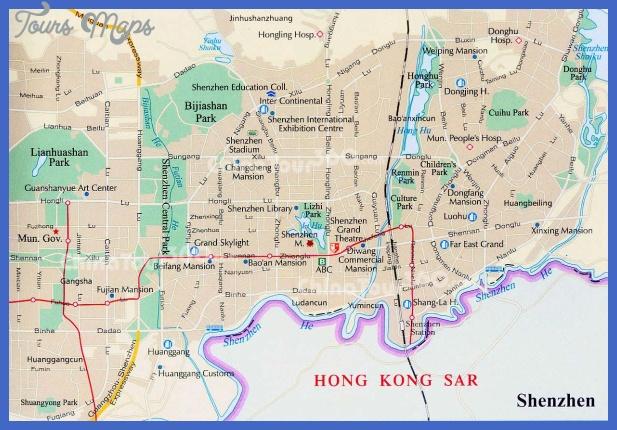 shenzhen city Shenzhen Subway Map