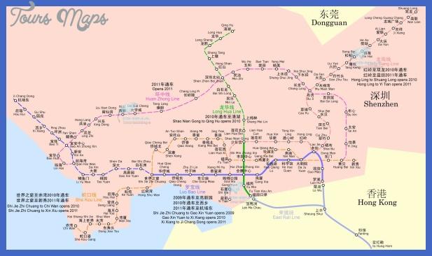 shenzhen metro Shenzhen Map