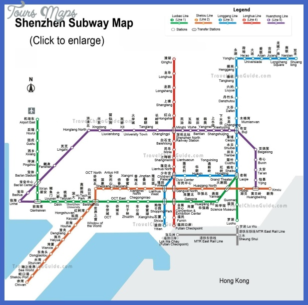 Shenzhen subway map Enligsh and Chinese traditional — Click to ...