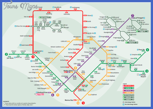 Singapore on Mrt Mass Rapid Transit