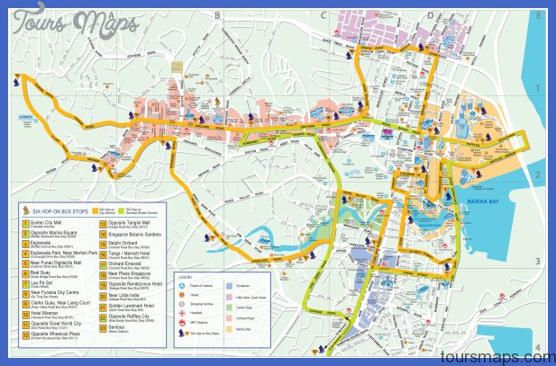singapore map big 1 Curitiba Map Tourist Attractions