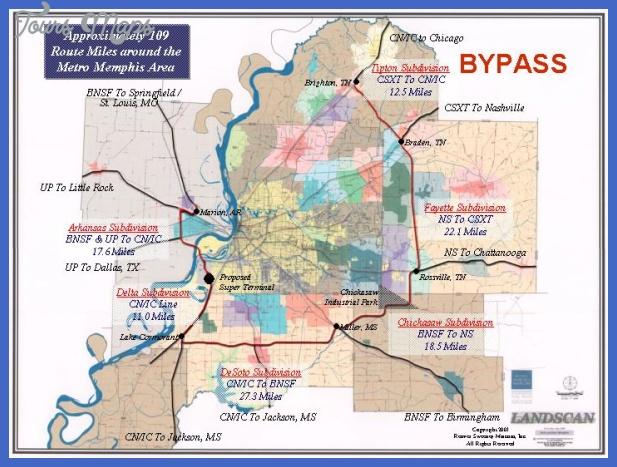 slide14 Memphis Metro Map