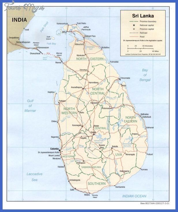 sri lanka map  0 Sri Lanka Map