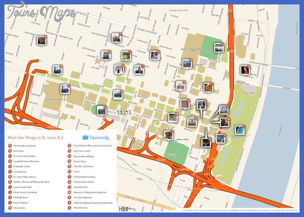 st louis map  6 St. Louis Map