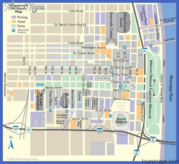 st louis map tourist attractions  0 St. Louis Map Tourist Attractions