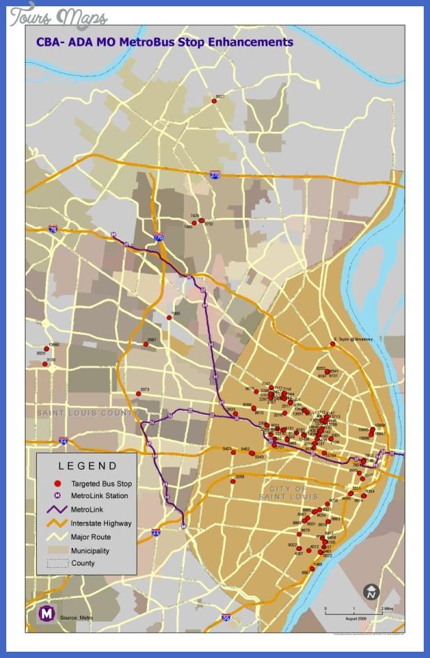 st louis metro map  1 St. Louis Metro Map