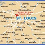 st louis usa airport map1 150x150 St. Louis Map