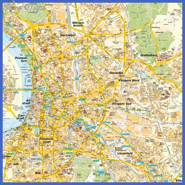 stadtplan duesseldorf 5358 Essen Düsseldorf Map