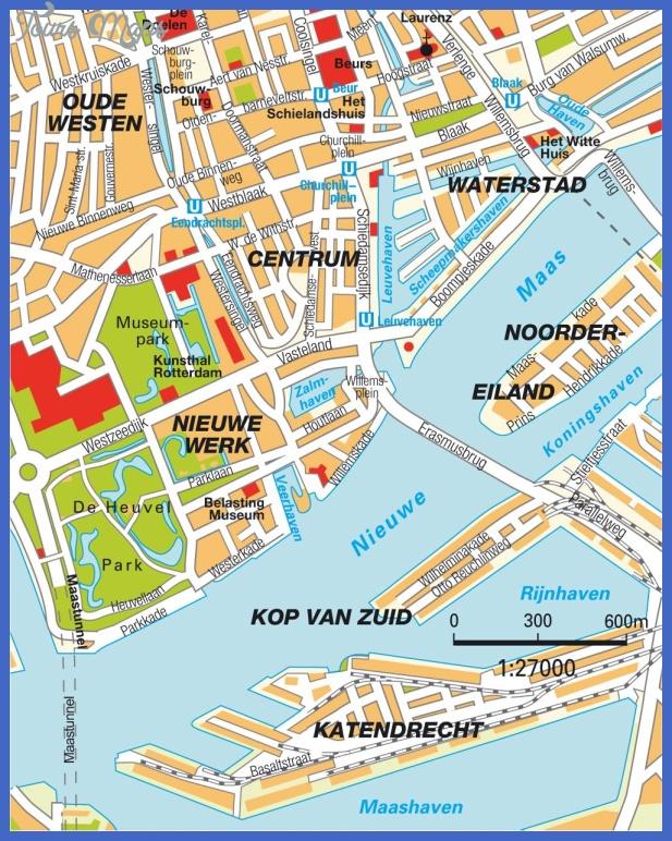 stadtplan rotterdam 7465 Netherlands Subway Map