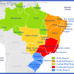 states of brazil map 150x150 Brazil Map Tourist Attractions