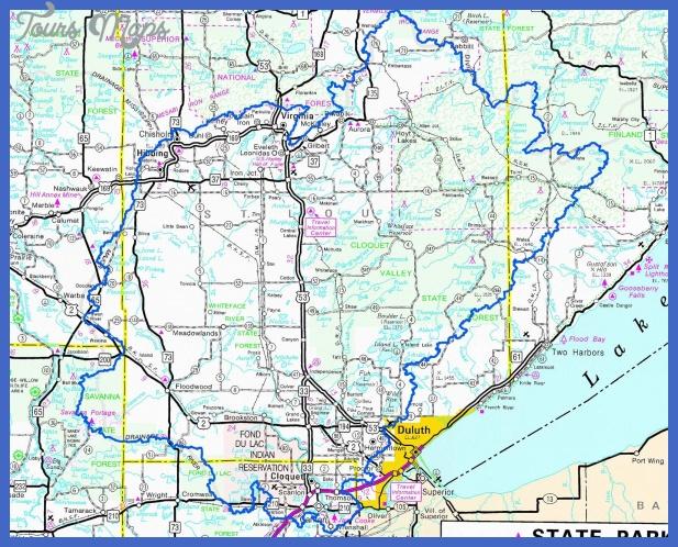 stlouisriver map 1 St. Louis Map