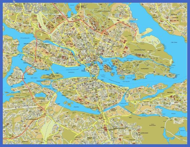 stockholm map big 1 Sweden Metro Map