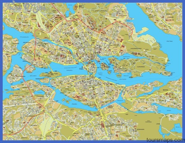 stockholm map big Sweden Subway Map