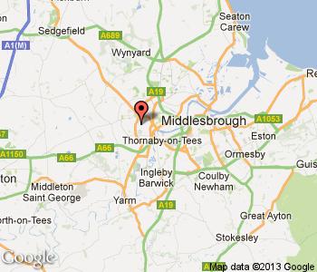 stockton on tees united kingdom Stockton Metro Map