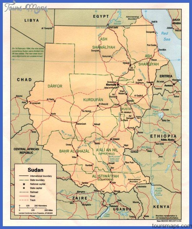 sudan pol 94 South Sudan Map