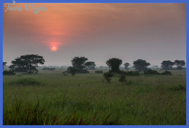 sunset Best african country to visit