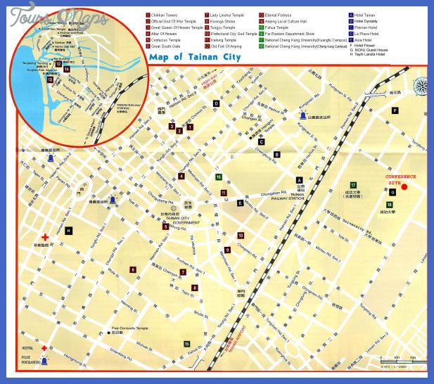 tainanstreetmap Taichung Subway Map