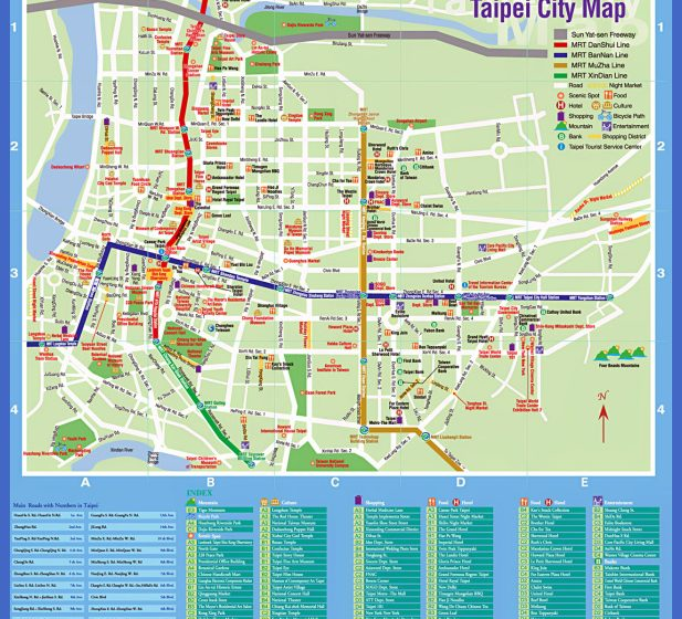 Taipei Map Tourist Attractions  _0.jpg