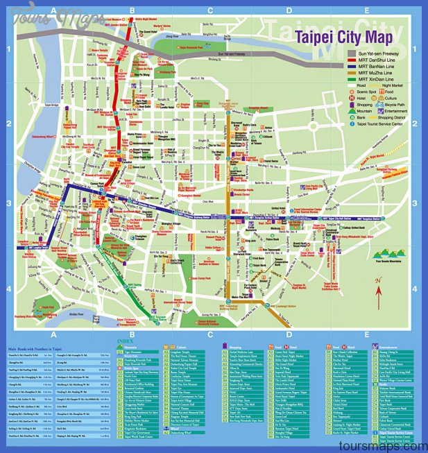 Taipei Map Tourist Attractions  _0.jpg
