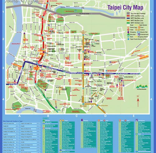 taiwan tourist map pdf Archives ToursMapsCom – Salzburg Tourist Map Pdf
