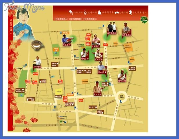 taipeiteamapchinese page 1 Taipei Map Tourist Attractions
