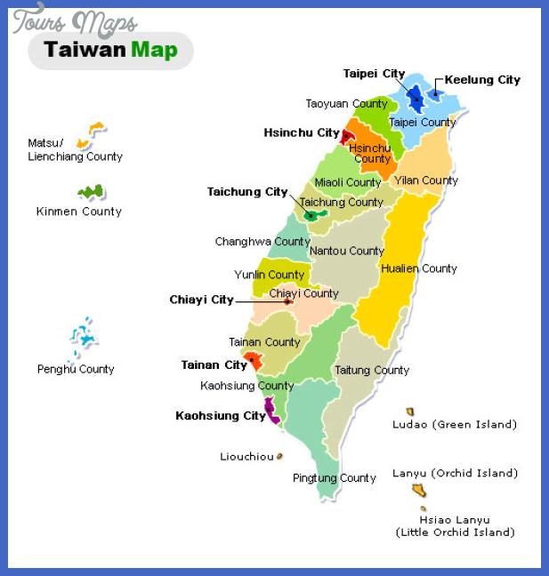 taiwan map political regional Taiwan Map