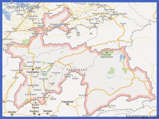 Flag, Tajikistan Culture, and Tajikistan History, Tajikistan Map 729 x ...
