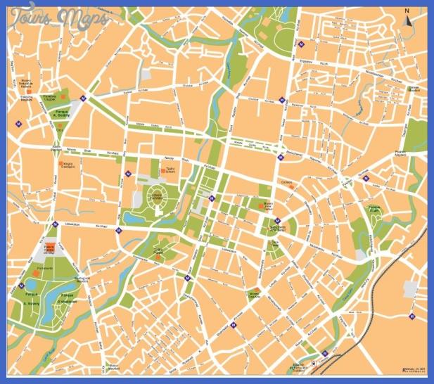tashkent map  11 Tashkent Map