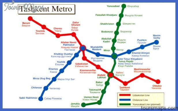 tashkent metro map Kenya Metro Map