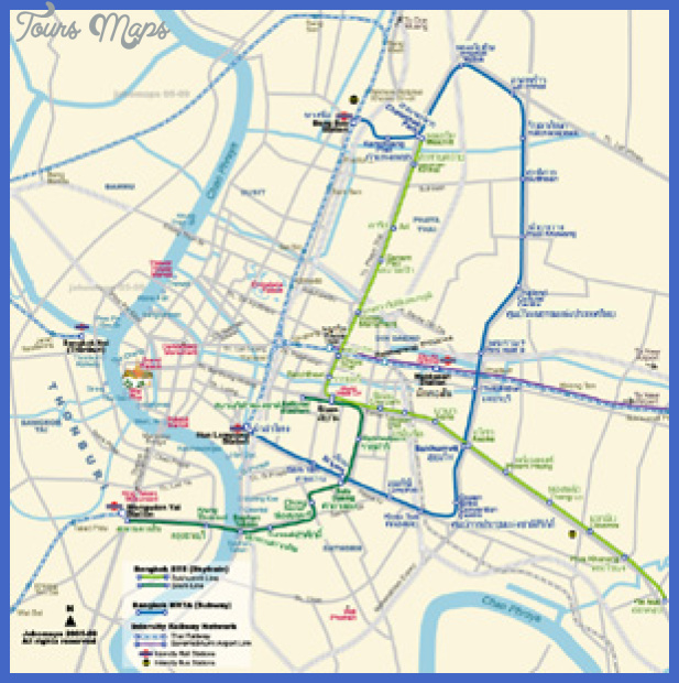 th bangkokmetro bi Bangkok Metro Map