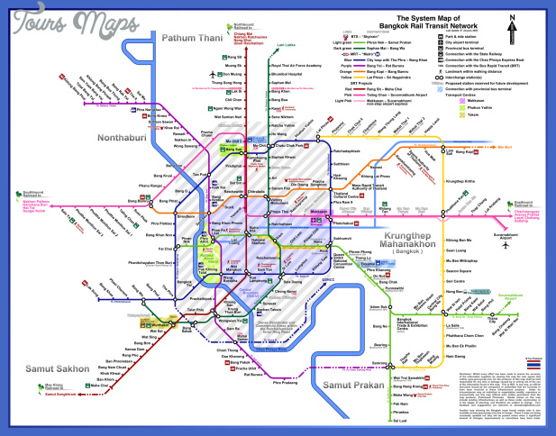 thailand metro map  0 Thailand Metro Map