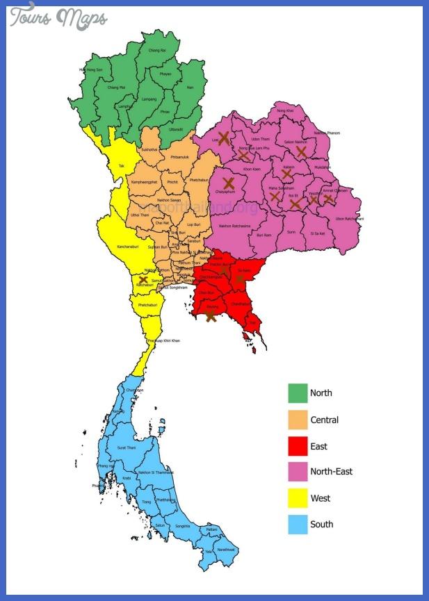 thailandmap jpg Thailand Map