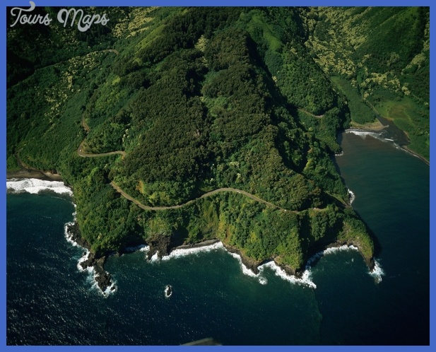 the road to hana 1024x822 Best places in Hawaii to visit