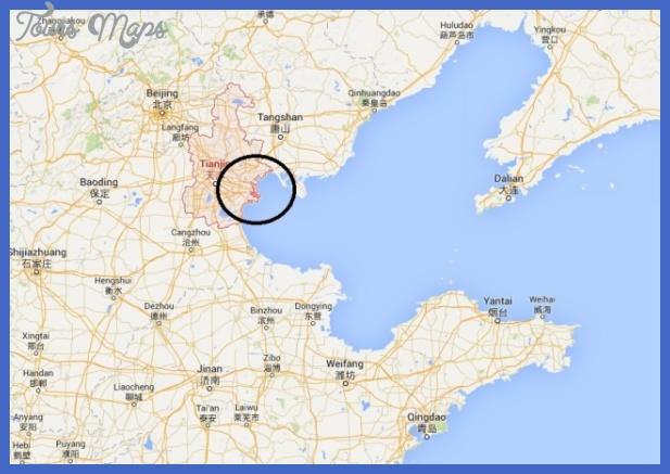 tianjin map  11 Tianjin Map
