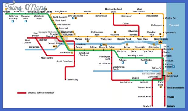 Togo Metro Map ToursMapscom