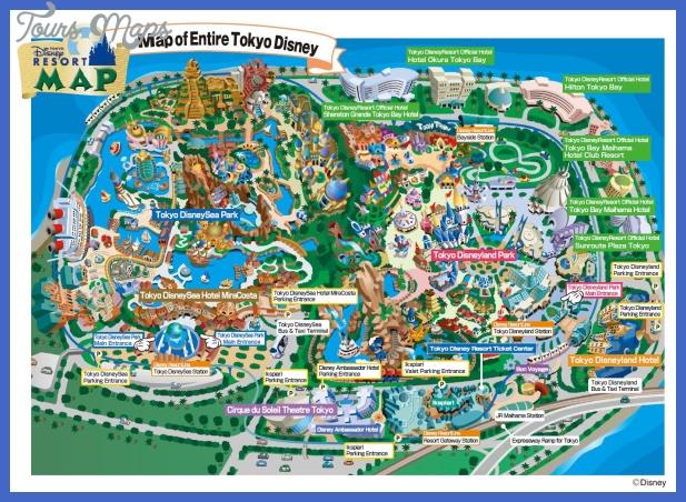 tokyo disney resort maps disney by mark your independent disney Tokyo Map Tourist Attractions