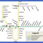 toronto ttc subway map 150x150 Toronto Subway Map