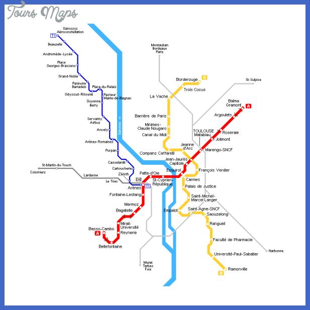 toulouse metro map Kenya Metro Map