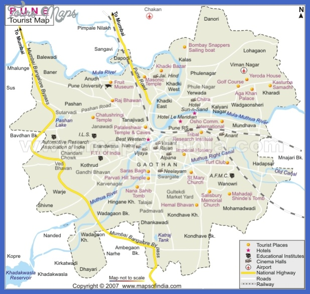 tourist attractions Chennai Map Tourist Attractions