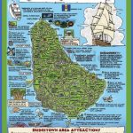 tourist map of barbados with attractions max 150x150 Burundi Map Tourist Attractions