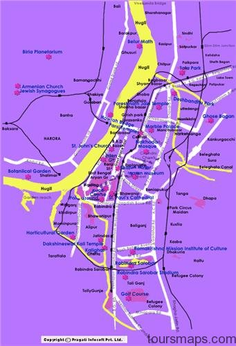 kolkata political map kolkata tourist map kolkata metro map kolkata