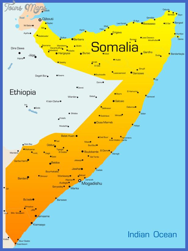 travel insurance map of somalia Somalia Map